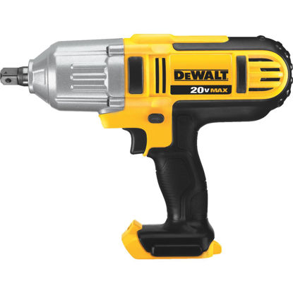 Picture of DeWalt 20 Volt MAX Lithium-Ion 1/2 In. High Torque Cordless Impact Wrench (Bare Tool)