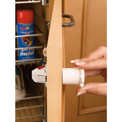 Picture of Rev A Shelf Tot-Lok Magnetic Cabinet & Drawer Lock Kit