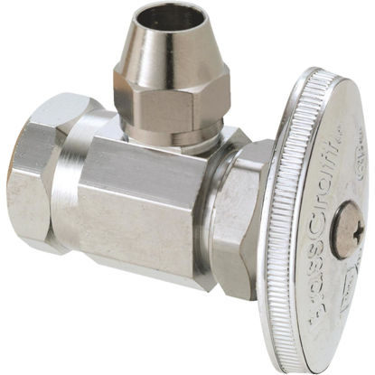 Picture of BrassCraft 1/2 In. FIP x 3/8 In. OD Flare 90 deg Angle Valve