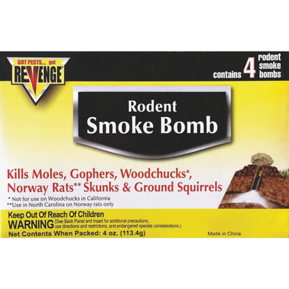 Picture of Bonide Revenge 4-Pack Gas Cartridges Mole & Gopher Killer