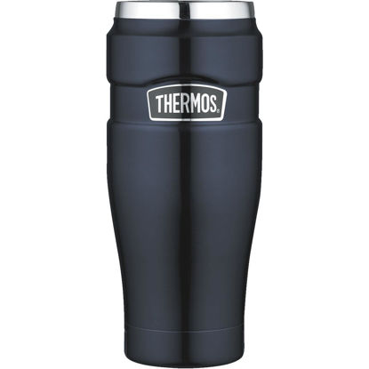 Picture of Thermos 16 Oz. Midnight Blue Stainless Steel Insulated Travel Tumbler
