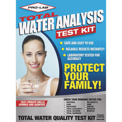 Picture of Pro Lab Instant Results Total Water Quality Test Kit