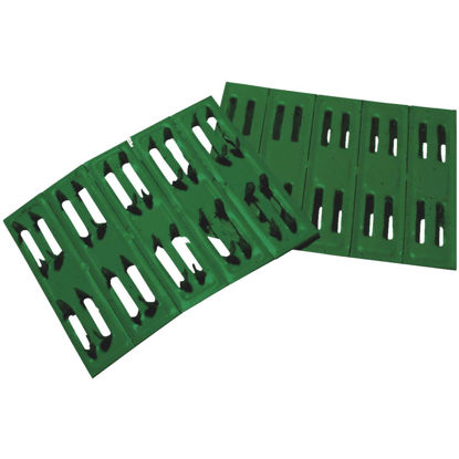 Picture of Coolaroo Green Plastic Sun Screen Wood Fasteners (50-Pack)