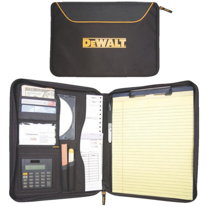 Picture of DeWalt Pro Contractor's 10 In. W. x 13 In. H. x 1-3/4 In. D. Black Polyester Business Portfolio