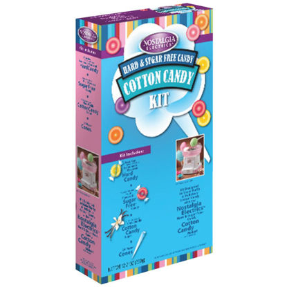 Picture of Nostalgia Cotton Candy Hard Candy Kit