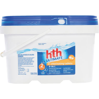 Picture of HTH 3 In. 8 Lb. Ultimate Chlorine Tablet