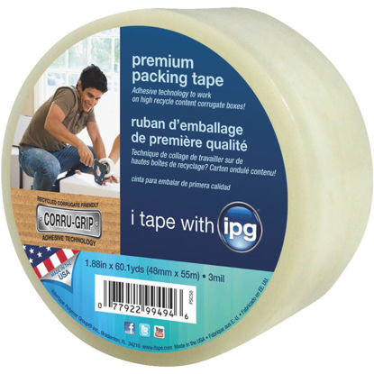 Picture of IPG 1.88 In. X 60.1 Yd. Premium Clear Packing Tape