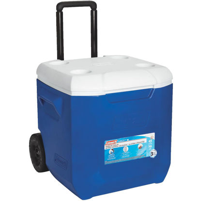 Picture of Coleman 45 Qt. 2-Wheeled Cooler, Blue