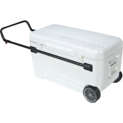 Picture of Igloo Glide Pro 110 Qt. 2-Wheeled Cooler, White