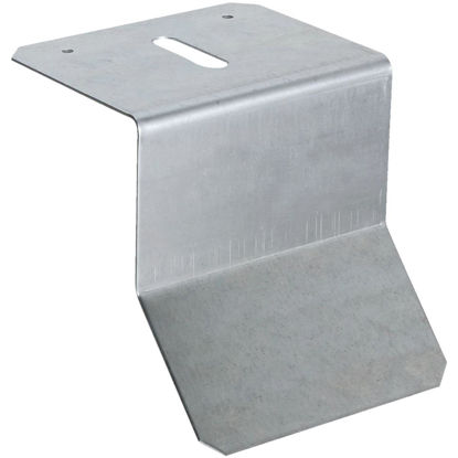 Picture of National Galvanized Flashing Box/Round Rail Barn Door Bracket
