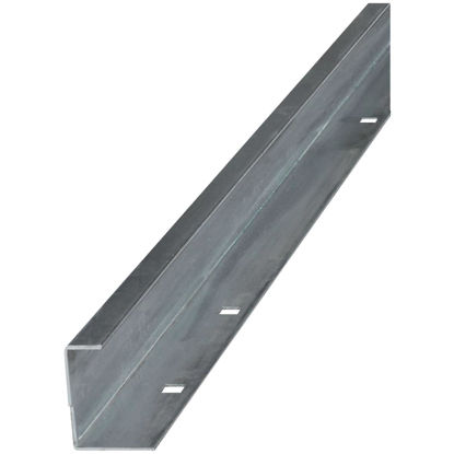 Picture of National 6 Ft. Galvanized Barn Door Guide Rail