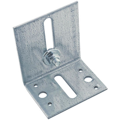 Picture of National Galvanized Guide Box/Round Rail Barn Door Bracket
