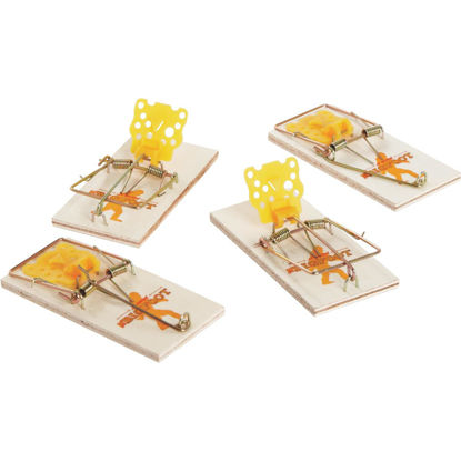Picture of JT Eaton Bigfoot Mechanical Mouse Trap with Expanded Trigger (4-Pack)
