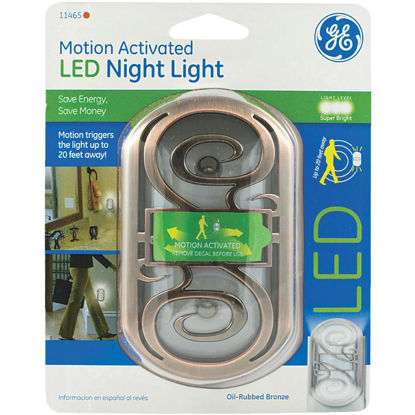 Picture of GE Oil-Rubbed Bronze Motion Activated LED Night Light