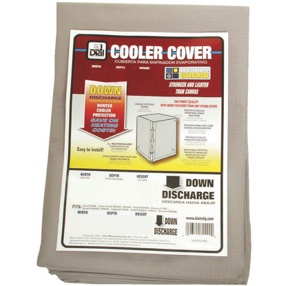 Picture of Dial 40 In. W x 40 In. D x 43 In. H Polyester Evaporative Cooler Cover, Down Discharge