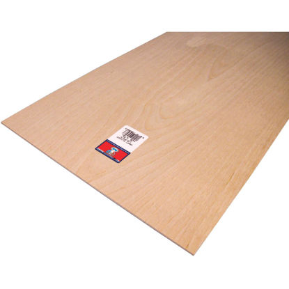 Picture of Midwest Products 1/8 In. x 12 In. x 24 In. Birch Plywood