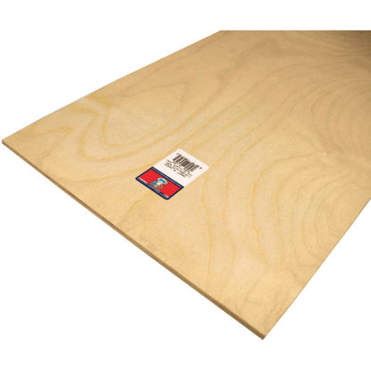 Picture of Midwest Products 1/4 In. x 12 In. x 24 In. Birch Plywood