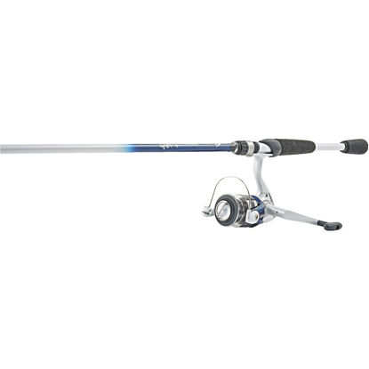 Picture of SouthBend Trophy Stalker 7 Ft. Fiberglass Fishing Rod & Spinning Reel