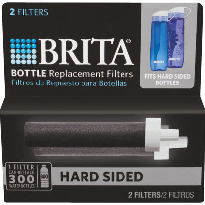 Picture of Brita Hard Sided Water Bottle Replacement Filter, (2-Pack)