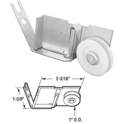 Picture of Slide-Co Sliding Screen Door Tension Spring Roller Assembly (2-Count)
