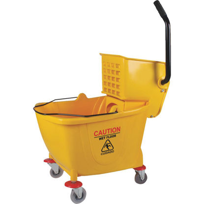 Picture of 38 Qt. Side Press PVC Mop Bucket & Wringer