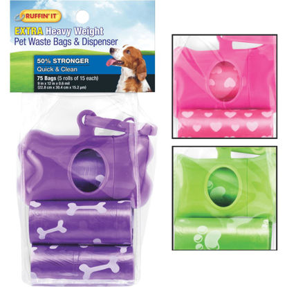 Picture of Westminster Pet Ruffin' it Pet Waste Bags & Dispenser