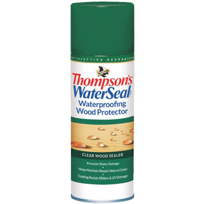 Picture of Thompsons WaterSeal Clear Waterproofing Wood Protector, 11 Oz.