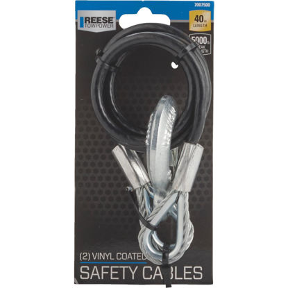 Picture of Reese Towpower 40 In. x 500 Lb. Safety Tow Cable (2-Pack)