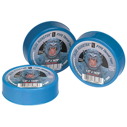 Picture of BLUE MONSTER 1/2 In. x 1429 In. Blue Thread Seal Tape