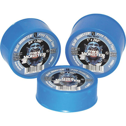 Picture of BLUE MONSTER 1/2 In. x 520 In. Blue Thread Seal Tape