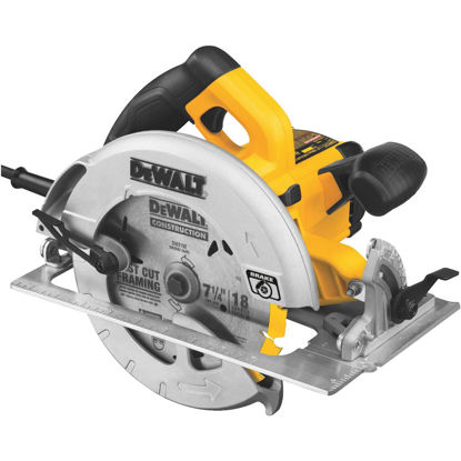 Picture of DeWalt 7-1/4 In. 15-Amp Circular Saw with Electric Brake