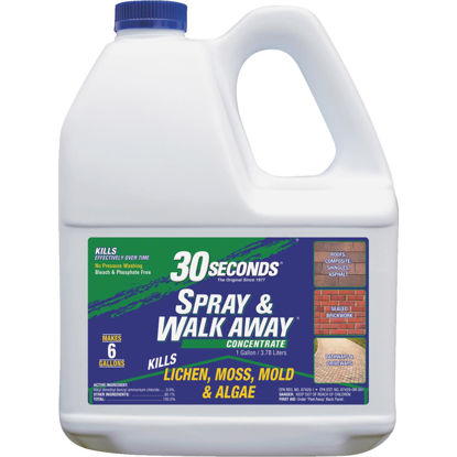 Picture of 30 seconds Spray & Walk Away 1 Gal. Concentrate Moss & Algae Killer
