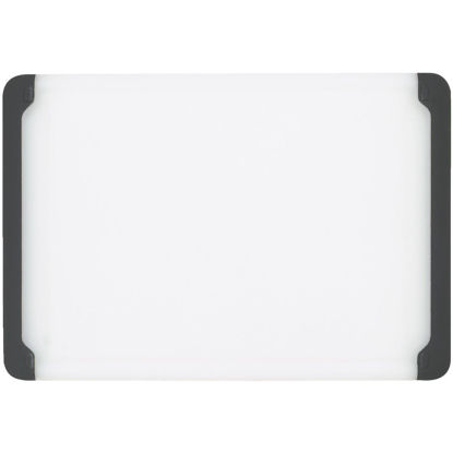 Picture of OXO Good Grips 7 In. x 10.5 In. White Cutting Board