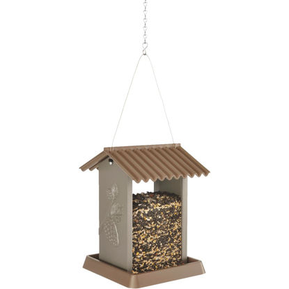 Picture of North States Brown Plastic Hopper Bird Feeder