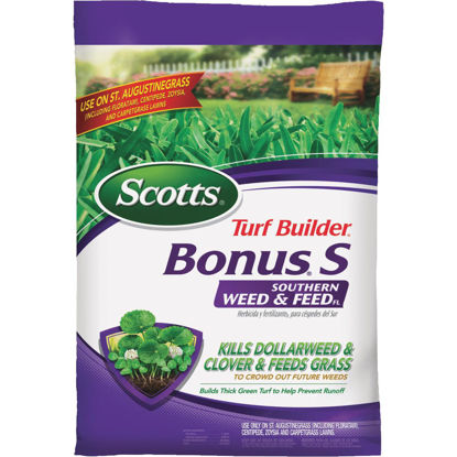 Picture of Scotts Turf Builder Bonus S Florida Weed & Feed 18.21 Lb. 5000 Sq. Ft. 29-0-10 Lawn Fertilizer with Weed Killer