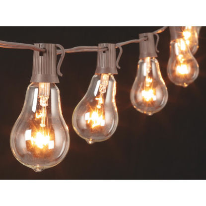 Picture of Gerson 10 Ft. 10-Light Clear Bulb String Lights