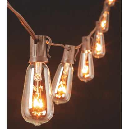 Picture of Gerson 10 Ft. 10-Light Clear Oblong Bulb String Lights
