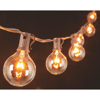 Picture of Gerson 10 Ft. 10-Light Clear Globe String Lights