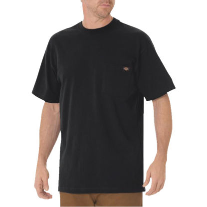 Picture of Dickies 2XL Black Short Sleeve Men's Shirt
