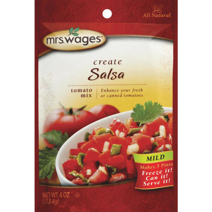 Picture of Mrs. Wages 4 Oz. Mild Salsa Tomato Mix
