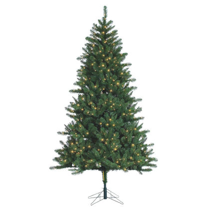 Picture of Gerson 7.5 Ft. Hawthorne Pine 700-Bulb Clear Incandescent Prelit Artificial Christmas Tree