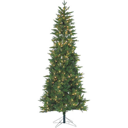 Picture of Gerson 7.5 Ft. Salem Spuce 400-Bulb Clear Incandescent Prelit Artificial Christmas Tree
