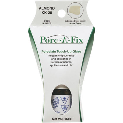Picture of Fixture-Fix Porc-A-Fix Kohler Almond Porcelain Touch-up Paint, 15cc