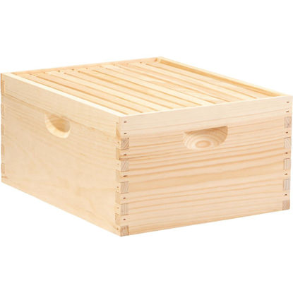 Picture of Little Giant 16.25 In. W. x 9.5 In. H.x 19.875 In. L. Assembled Deep Beehive, 10 Frames