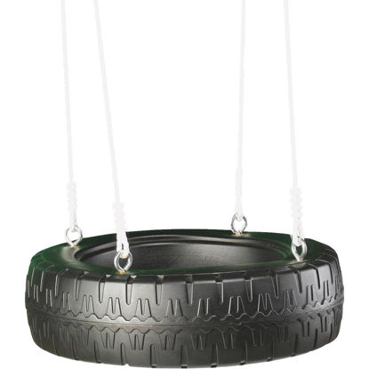 Picture of Swing N Slide Black Classic Tire Swing