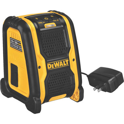 Picture of DeWalt 12 Volt/20 Volt MAX Lithium-Ion 100 Ft. Cordless Bluetooth Speaker (Bare Tool)