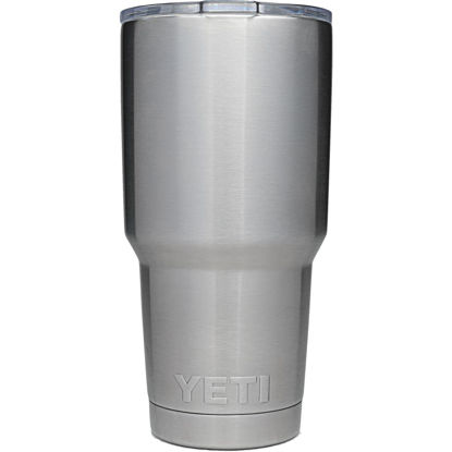 Picture of Yeti Rambler 30 Oz. Silver Stainless Steel Insulated Tumbler
