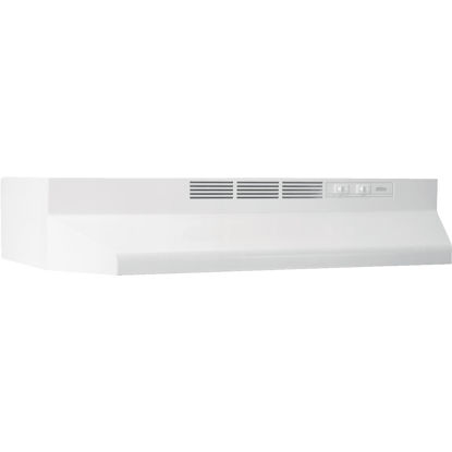 Picture of Broan-Nutone 41000 Series 24 In. Non-Ducted White Range Hood