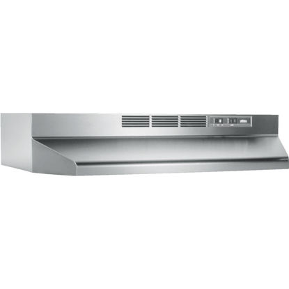 Picture of Broan-Nutone 41000 Series 24 In. Non-Ducted Stainless Steel Range Hood