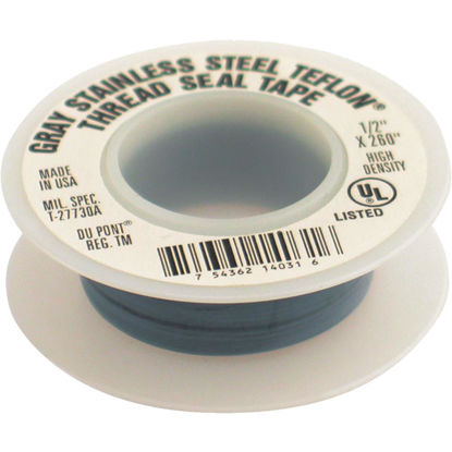 Picture of PLUMB-EEZE 1/2 In. x 260 In. Gray Non-Stick Coating Thread Seal Tape